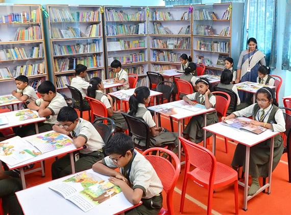 library-ABC English School